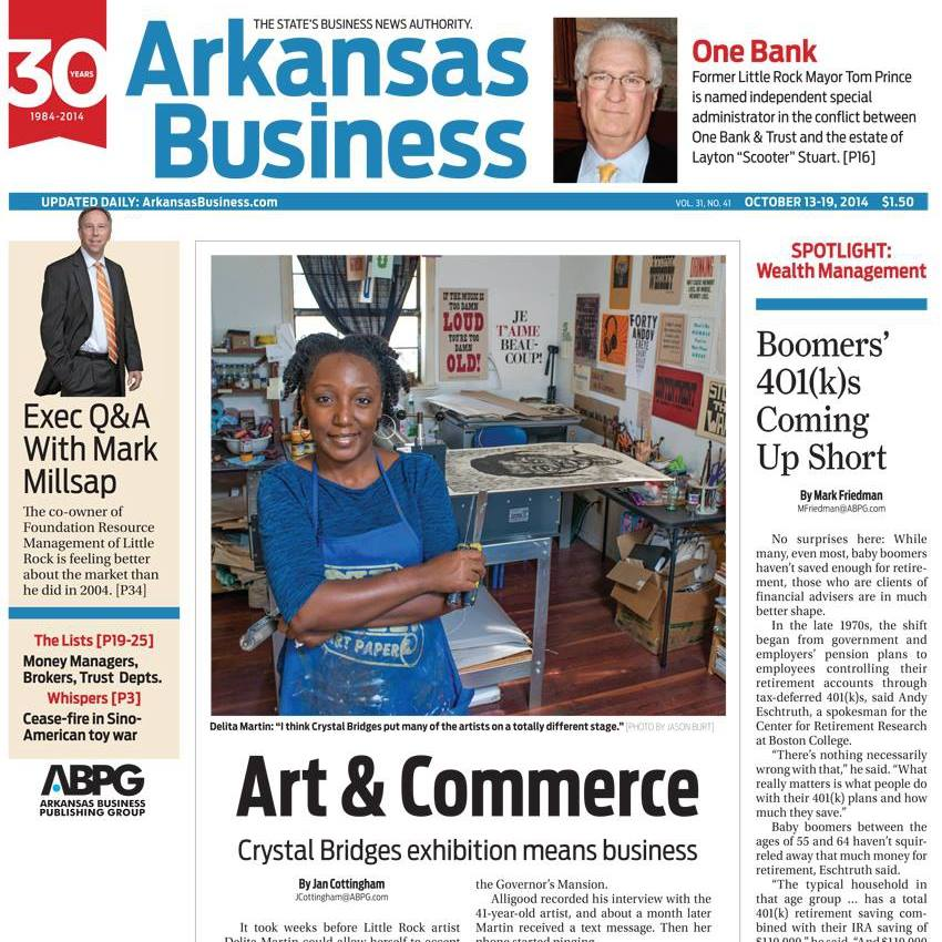 Arkansas Business Cover